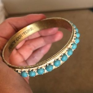 Juicy Couture Jewelry - Juicy Couture blue and white bangle